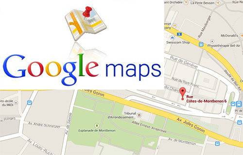 int grer une carte google maps sur son site. Black Bedroom Furniture Sets. Home Design Ideas
