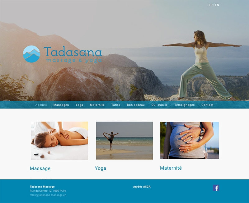 Tadasana Massages Pully